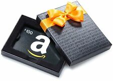 $100 Amazon Gift Card in a Pretty Gift Box, Fast 1-Day Shipping!