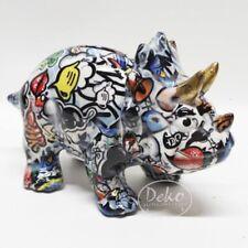 POMME PIDOU - exklusive Spardose - Keramikfigur DINO WINSTON Streetart