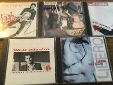 Wolf Maahn [5 CD Alben] Irgendwo Deutschland + Bisse Küsse + Libero + Himmel ..