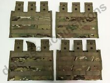 LOT OF 4 NEW US Military Multicam Triple Mag Magazine Pouch MOLLE 3 X 30 Round