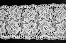 **** WIDE -  WHITE -  LACE -  130mm  Wide ****