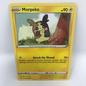 Morpeko 78/202   Sword & Shield Base   Mint Condition