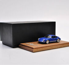 Timothy&Pierre 1:64 Porsche Singer 911 Model TP limited edition matte blue