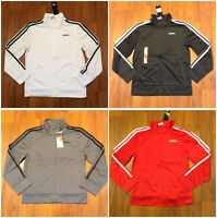 adidas Youth Boy's Track Jacket Size 7, S 8, M -10/12, L-14/16, XL-18/20 New