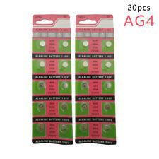 20PCS 2cards Ag4 377A Lr626 Sr626Sw Sr66 Lr66 Button Cell Watch Coin Battery