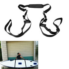 SUP Stand Up Paddle Board Surfboard Carry Sling Carrier Storage Strap Black