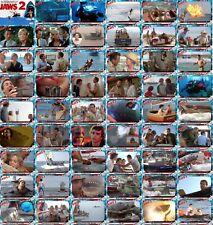 Jaws 2 movie storyboard trading cards. Shark Scheider Gary Amity