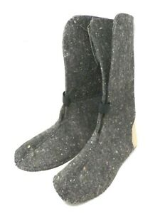 Hoffmans Boots Men's Wool Brand Felt Polypropylene Replacement Boot Liners