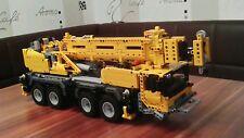 Bauanleitung instruction 42009 4 Achse Autokran Eigenbau Unikat Moc Lego Technic