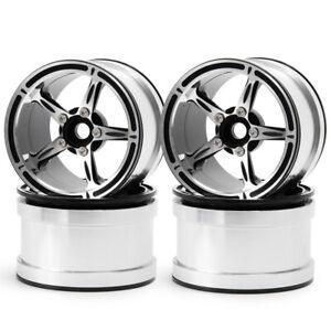 4 Stück Metall Felgen 2.2'' Beadlock Wheel Rims Für 1/10 RC Axial SCX10 D90 TRX4