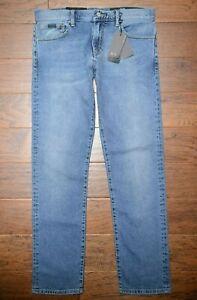 Armani Exchange A X J16 Men's Straight Fit Stretch Cotton Blue Denim Jeans 32R