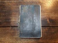 Original Tagebuch eines deutschen Soldaten 1. WK 1915, eindrucksvoll und selten!