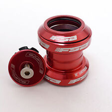 "FSA Orbit MX 34mm Threadless Headset w/ top cap 1-1/8"" 28.6mm Red"