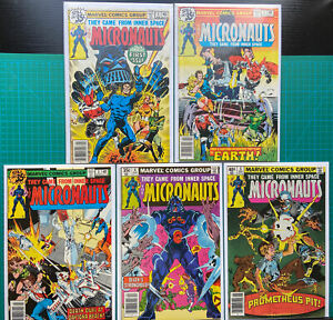 Micronauts Lot - #1 to #5