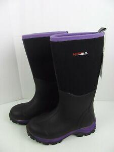 HISEA Waterproof Neoprene Rubber Muck Mud Hunting Rain Gardening Women Boot 6