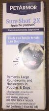 New listing Petarmor Sure Shot 2X (pyrantel pamoate) Liquid De-wormer for Dogs, 2 Oz