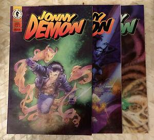 Johnny Demon - Set  1-3 Early Kurt Busiek Dark Horse Comics