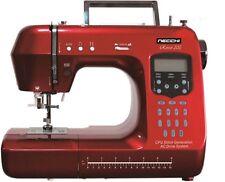 Rosso 200 NECCHI EDIZIONE Quilting macchina da cucire completamente informatizzato Info Schermo