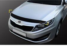 New Smoke Bonnet Hood Guard Deflector Molding D694 for Kia Optima 11 - 15