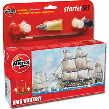 AIRFIX A55104 HMS Victory Starter Set Fit the Box Ship Model Kit