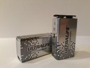 Ultralife LongLife Lithium Battery U9VL -J-P 1200 mAh for Smoke detector
