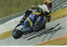 Louis Rossi mano firmado 7x5 Foto Tech 3 Moto 2 MotoGP 18.