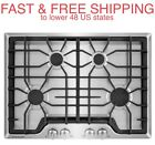 """FREE SHIPPING New Frigidaire Gallery 30"""" Stainless Gas Cooktop 18,000 BTU Burner photo"""