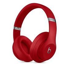 New Beats Studio3 Wireless Over - Ear Headphones - Red