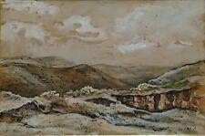 Künstlerische Malerei mit Gouache-Technik von 1900-1949