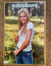 """MANDY MOORE poster. 34x22"""""""