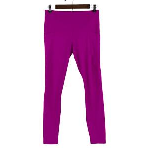 Athleta Chaturanga Crop Yoga Active Athleisure High Rise Hot Pink Leggings M