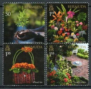 Bermuda Flowers Stamps 2021 MNH Garden Club Floral Art Nature 4v Set