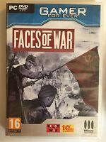 Faces of War JEU PC NEUF SOUS BLISTER Seconde Guerre Mondiale