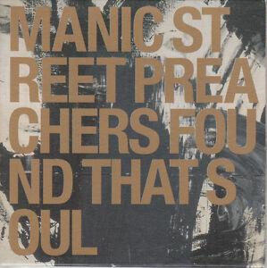 Manic Street Preachers CD-SINGLE FOUND THAT SOUL ( PROMO)