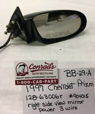 USED Vintage Chevrolet Prizm 1997' Right side view mirror (drivers Quality)