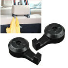 Car Black Accessories Convenient Seat Hanger Holder Hook Bag Coat Organizer New