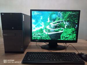 Komplett PC MIT MONITOR