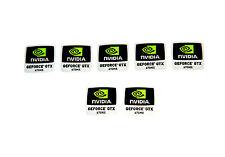 NVIDIA GeForce GTX 670mx pieza 7 | Etiqueta engomada / la etiqueta engomada / etiqueta. NUEVO logo-nueva