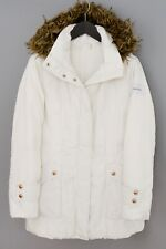 Women Calvin Klein Jacket Parka Casual Down Filled Warm Winter S UK10 ZMA925