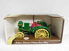 Ertl Vtg John Deere Waterloo Boy Model R Kerosene Farm Tractor 1:32 Die Cast Toy