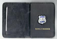 Nassau County Police (NY) Officer's Family Member Book Wallet with PBA mini Pin