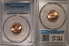 2006 P Lincoln Cent 1c PCGS MS66RD Business Strike
