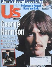 GEORGE HARRISON 1943-2001 HIS FINAL DAYS December 2001 US WEEKLY Magazine