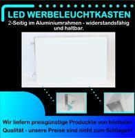LED Leuchtreklame 2-seitig 70cm x 30cm inkl. Druck und Entwurf
