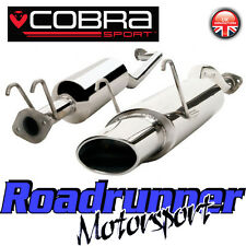 "HN15 Cobra Honda Civic Type R EP3 Exhaust System 2.5"" Stainless Cat Back 6x4"""