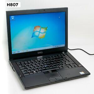 """DELL LATITUDE E6400 14"""" LAPTOP CORE 2 DUO P9600 4GB 320GB WIN 7 PRO WEB CAM H807"""