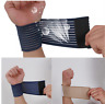 Adjustable Wrist Elastic Bandage Support Sport Wrap Fitness Sports Gym Wristband
