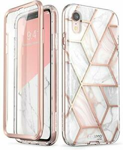 i-Blason Cosmo Full-Body Bumper Case with Built-in Screen Protector for iPhon...