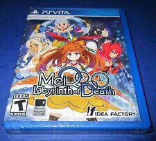 MeiQ: Labyrinth of Death Sony PlayStation Vita *Factory Sealed! *Free Shipping!