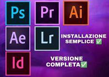 Adobe photoshop/Illustrator/InDesign/lightroom/after effects/premiere pro 2020✅